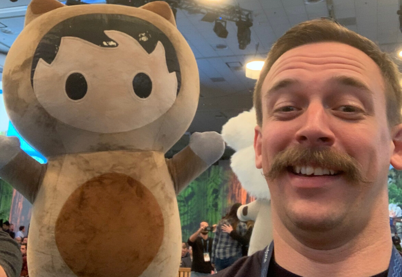Tom with Astro at Dreamforce