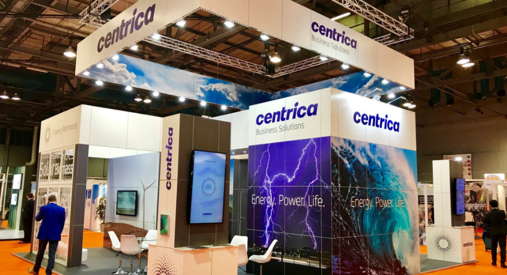 Centrica booth at an event